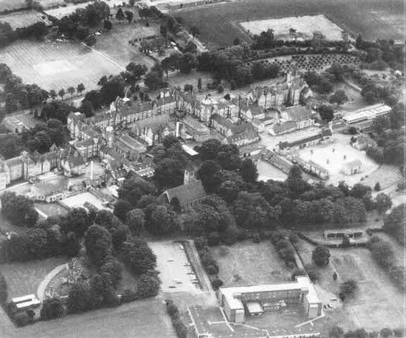 aerial view three counties arlesey