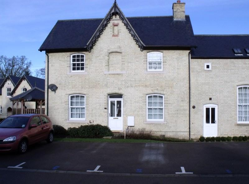 front of assylum allen cottage
