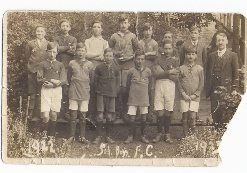 Arlesey Primary School 1922 football team