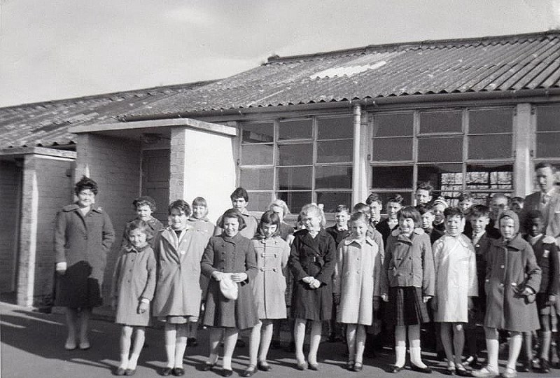 Arlesey primary school outing to st albans 1961
