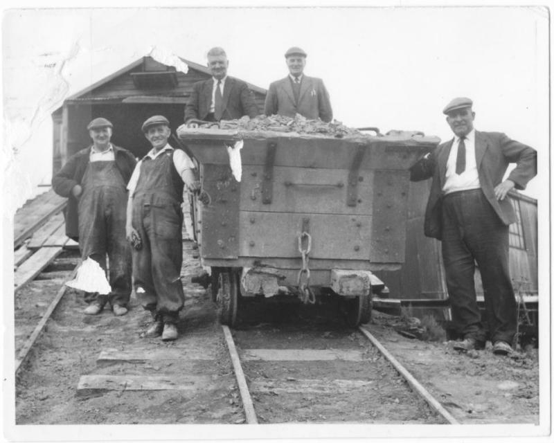 Arlesey brickyard wagon with Henry Kitely