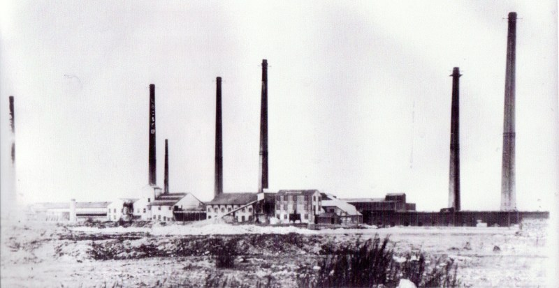 Arlesey's 7 brickyard chimneys