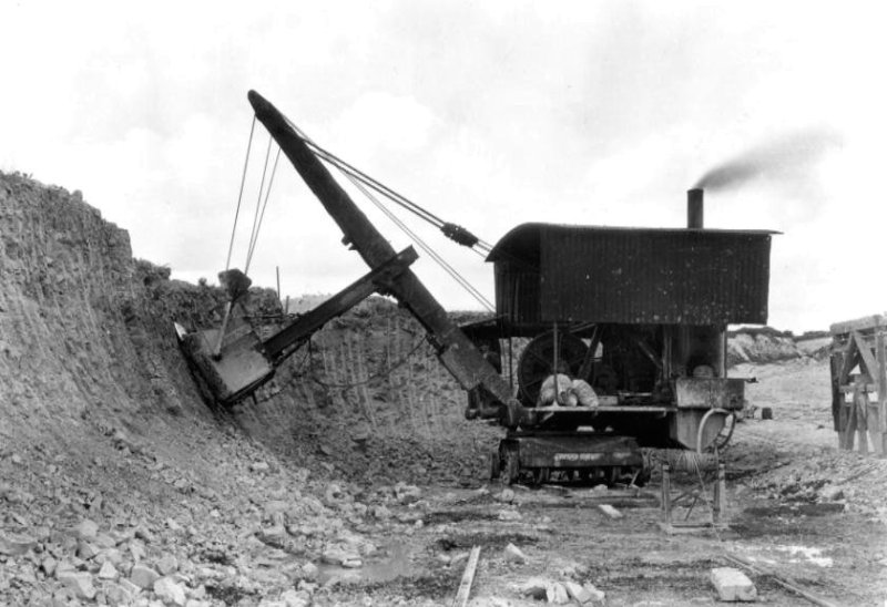 steam excavator Arlesey