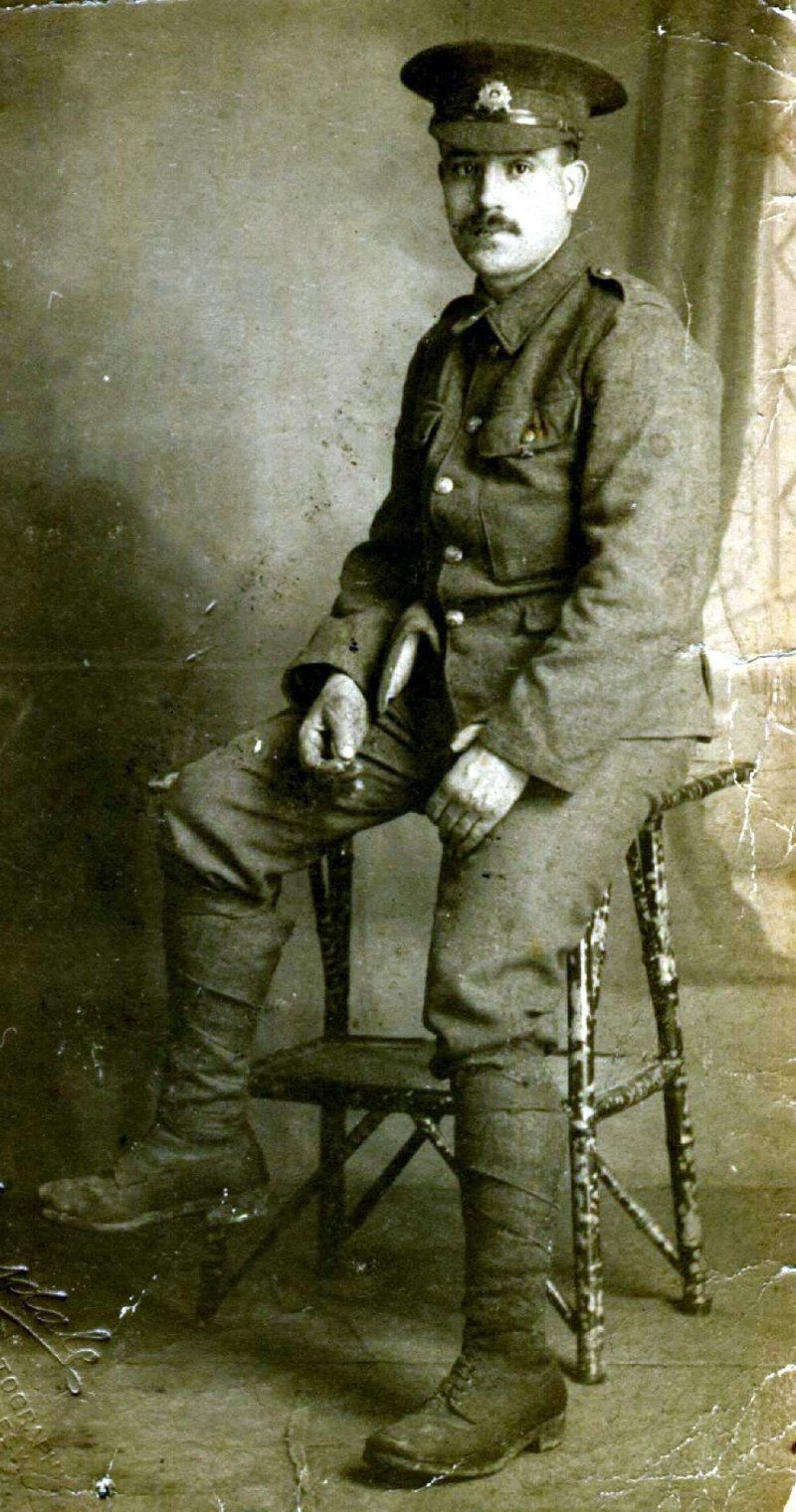 ww1 soldier young herbert allen