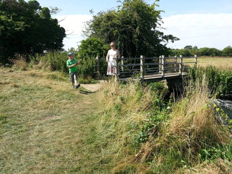 Arlesey Mill Pits bridge 2
