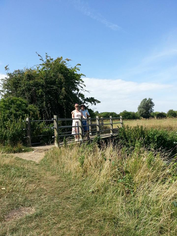 Arlesey Mill Pits bridge