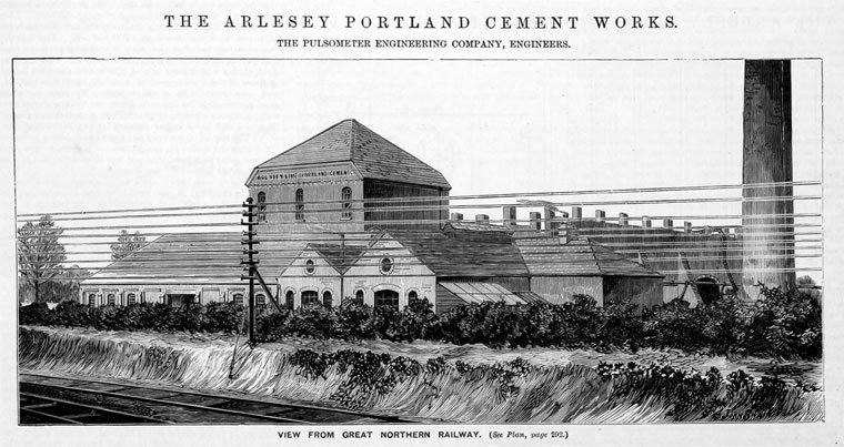 The Arlesey Portland Cement works
