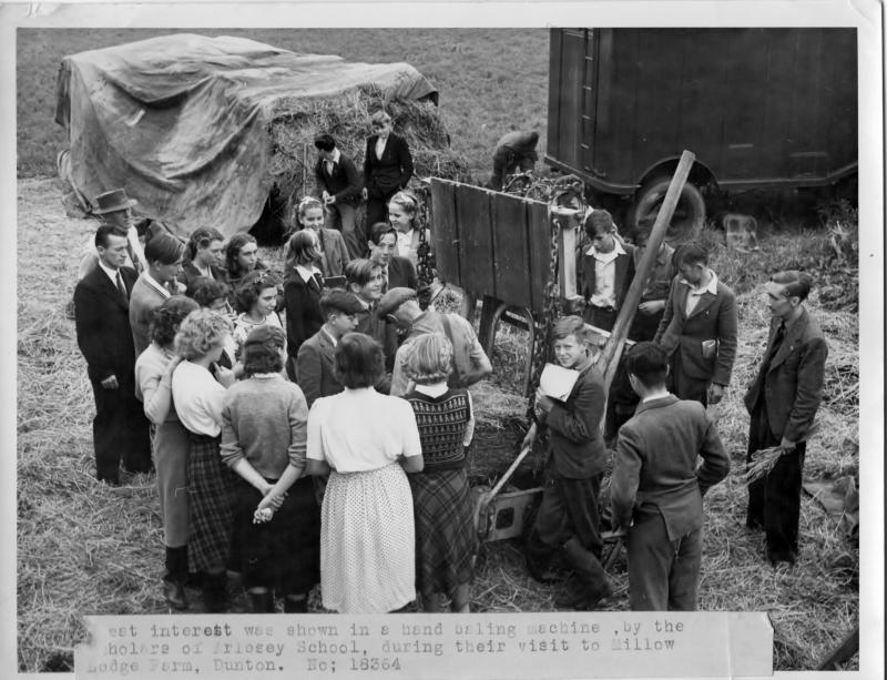 arlesey siding farm visit