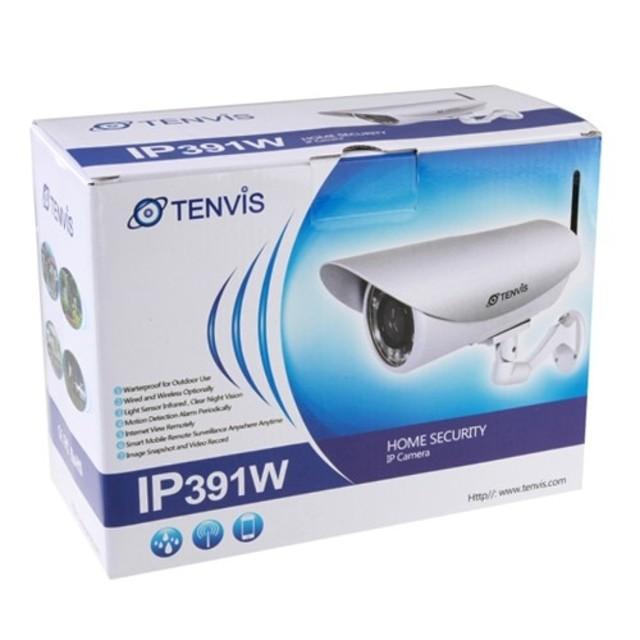 TENVIS-391W-Waterproof-Outdoor-Wireless-IP-IR-Camera-18-LED-IP391w-Night-Visi
