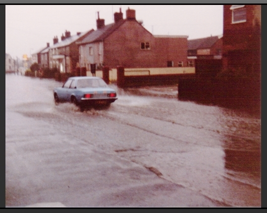 arlesey 80's flood