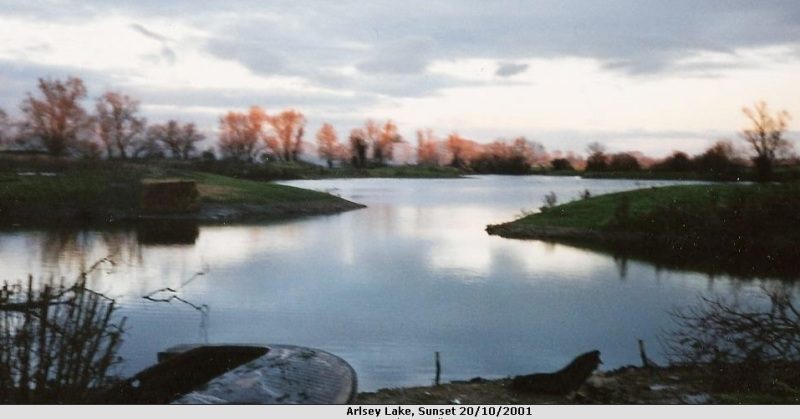 arlesey lake part filled in