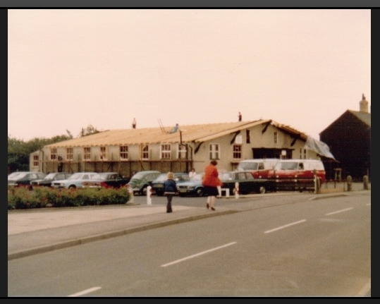 Arlesey W.I. no roof