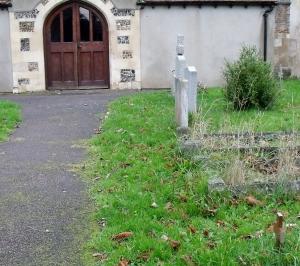 reverend beavan's grave
